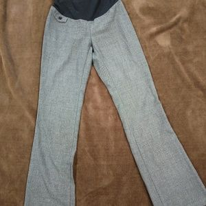 Oh Baby Size small gray maternity dress pants
